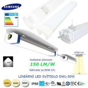 Lineárne LED svietidlo DWL30W