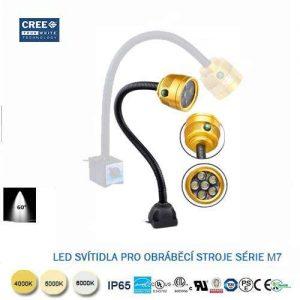 LED svietidlo s flexibilným ramenom M7