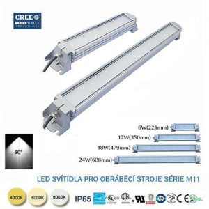 LED svietidlo pre obrábacie stroje M11