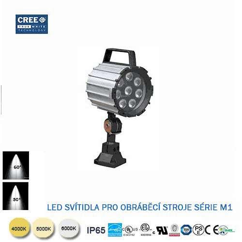 LED svietidlo pre obrábacie stroje M1