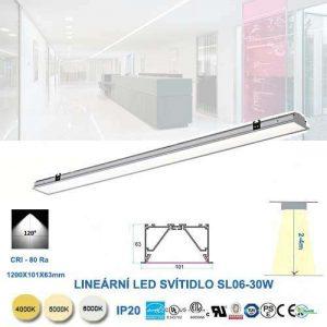 Lineárne LED svietidlo SL06-30W
