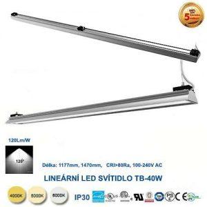 Lineárne LED svietidlo TB35W