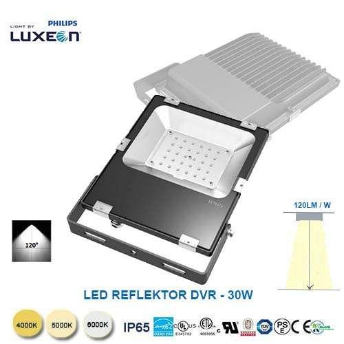 LED reflektor DVR-30W