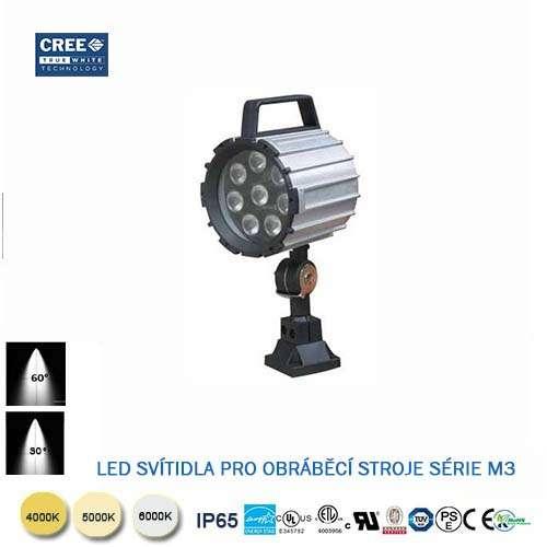 LED svietidlo pre obrábacie stroje M3-9W