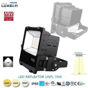 LED reflektor UNFL-70W