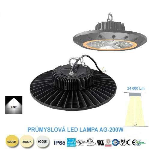 Priemyselná LED lampa AG-200W