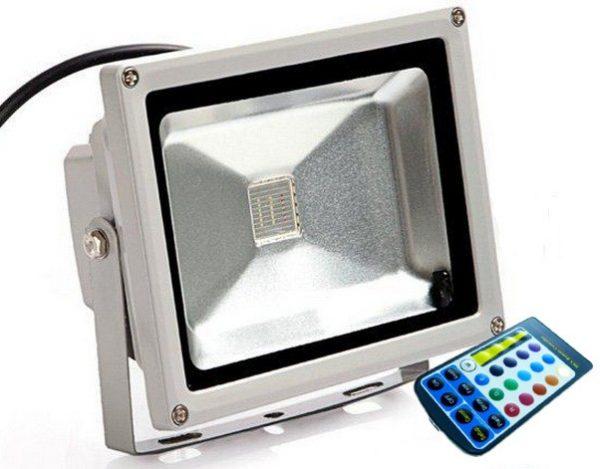 RGB LED reflektor 20W