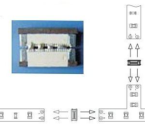 Propojovací konektor RGB LED pásků