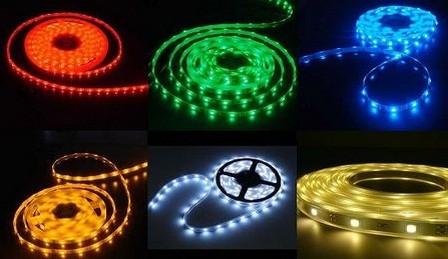 RGB LED pásek 5050 - 30 led/m