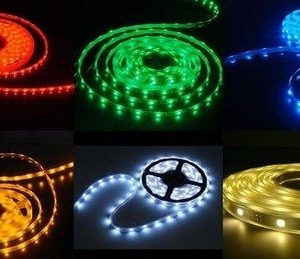 LED pásek 5050 - 60 led/m RGB