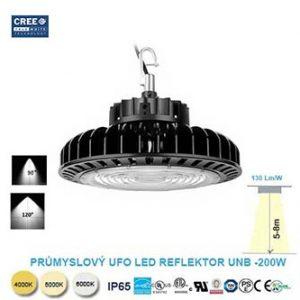 Průmyslové LED svítidlo UFO PROFI 200W